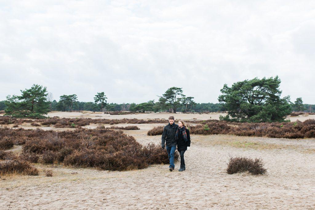 Kirsten & Frank, Love shoot, Soesterduinen