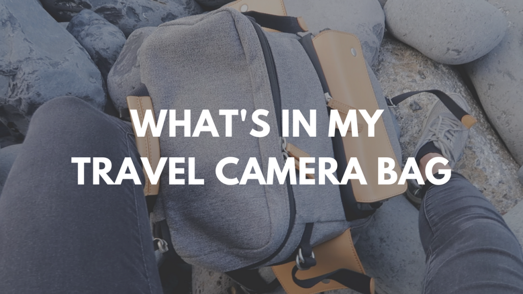 what's in my travel camera bag?