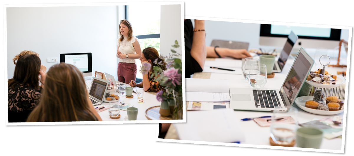 Crush Creatie, branding workshop