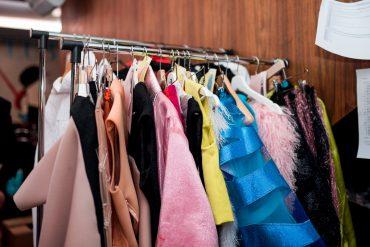 NFS fashion show backstage