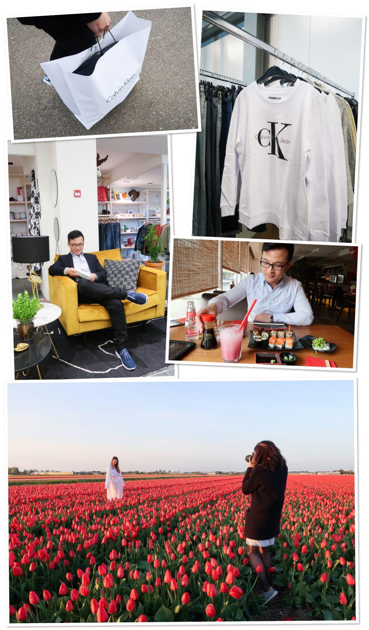 Tulpen fotoshoot Nederland