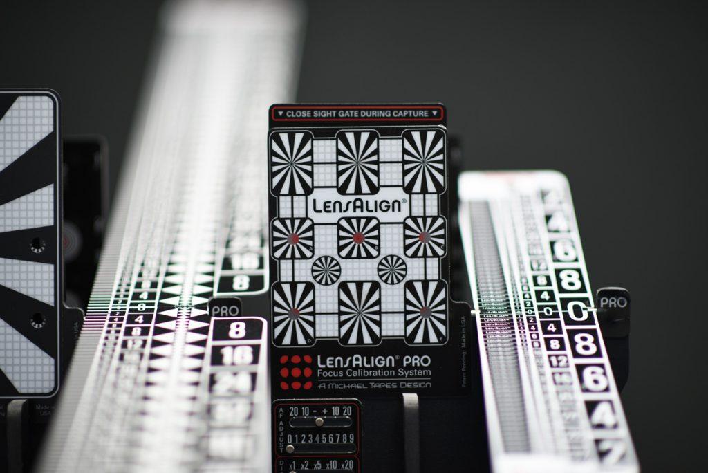 Lens kalibratie systeem
