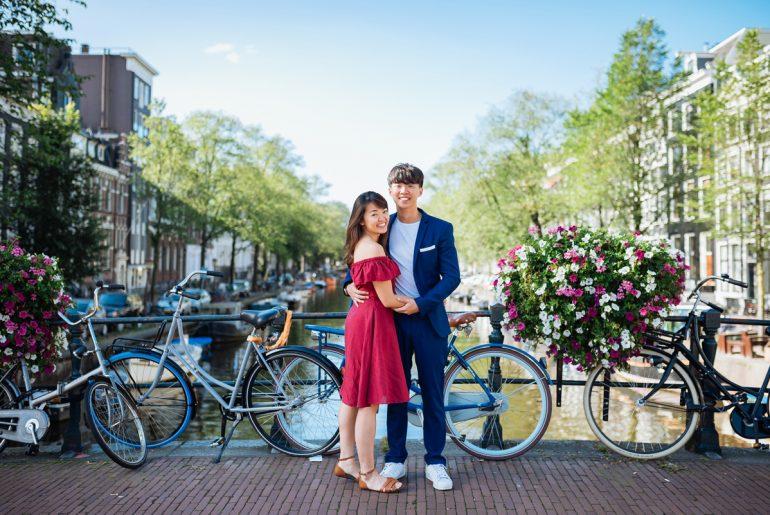 Love shoot in Amsterdam: Shun Min & Samuel