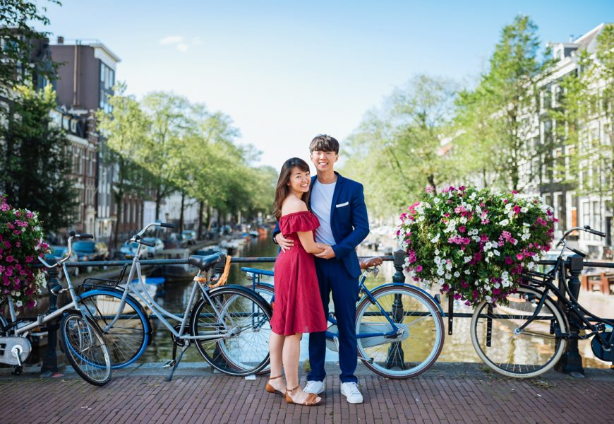 Love shoot in Amsterdam: Shun Min & Samuel