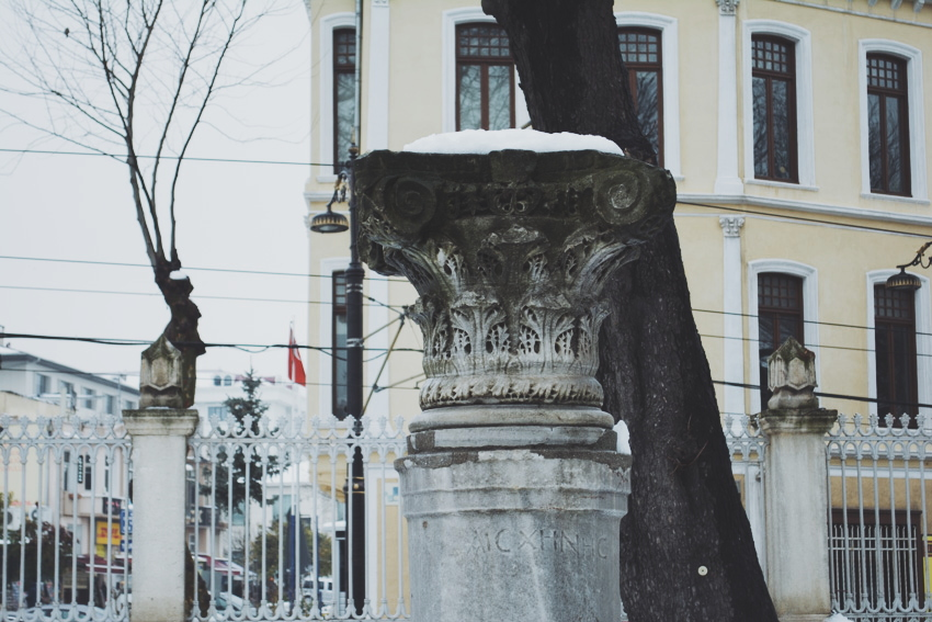Istanbul in snow, Photography by José Chan