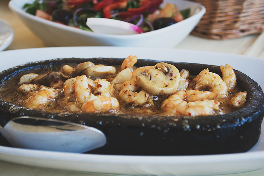 Buttered shrimp, Anadolu Kavagi