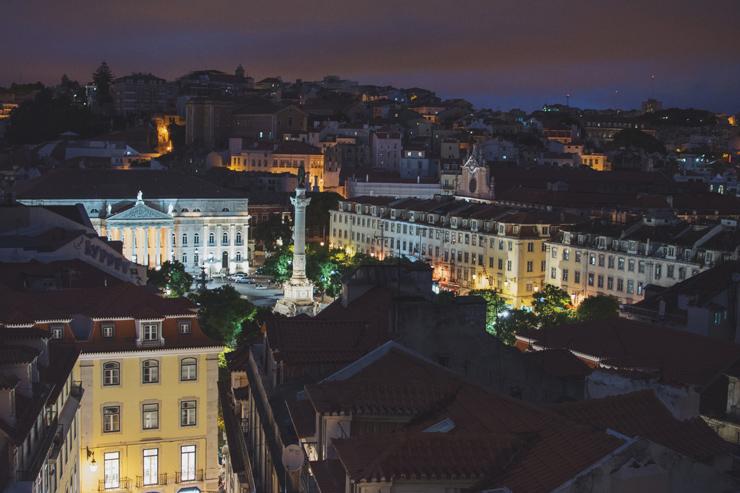 Night-view-Lisboa,-ph-by-José-Chan