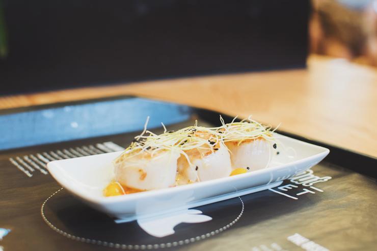 Food court, scallops, ph by José Chan