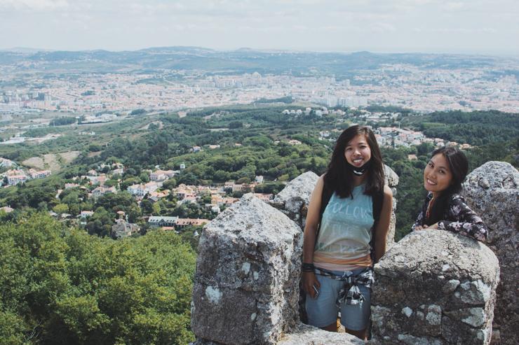 Sintra castle friends view, ph by José Chan