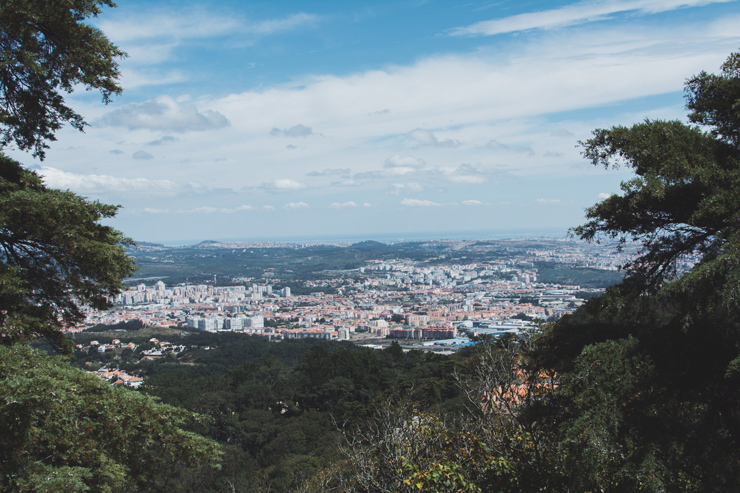 Sintra castle view, ph by José Chan