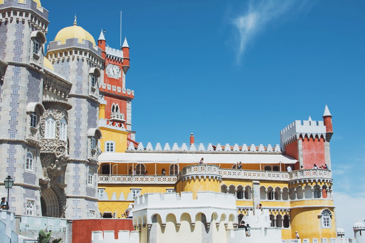 Sintra palace architecture, ph by José Chan