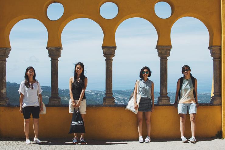 Sintra palace friends, ph by José Chan