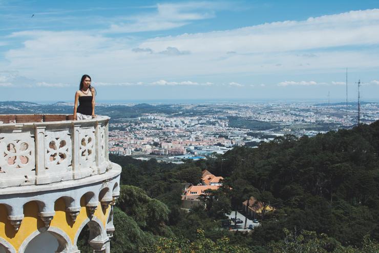 Sintra palace girl, ph by José Chan