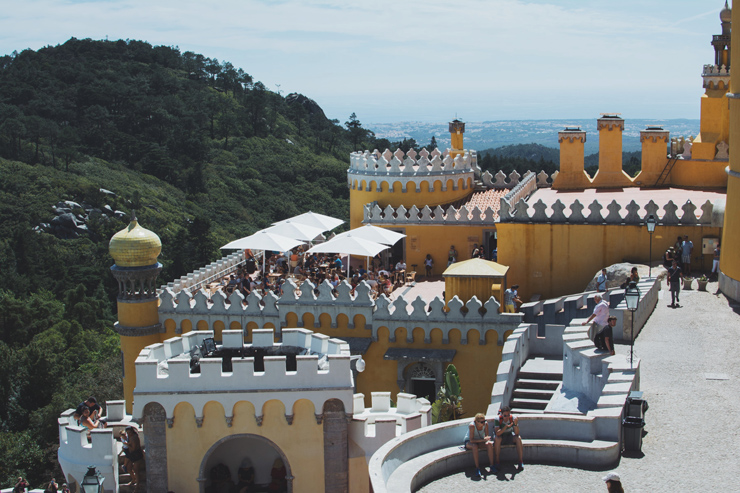 Sintra palace rooftop terrace, ph by José Chan