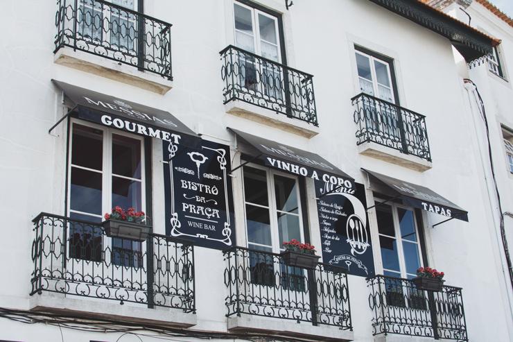 Sintra village facade, ph by José Chan