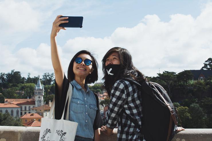 Sintra village selfie, ph by José Chan