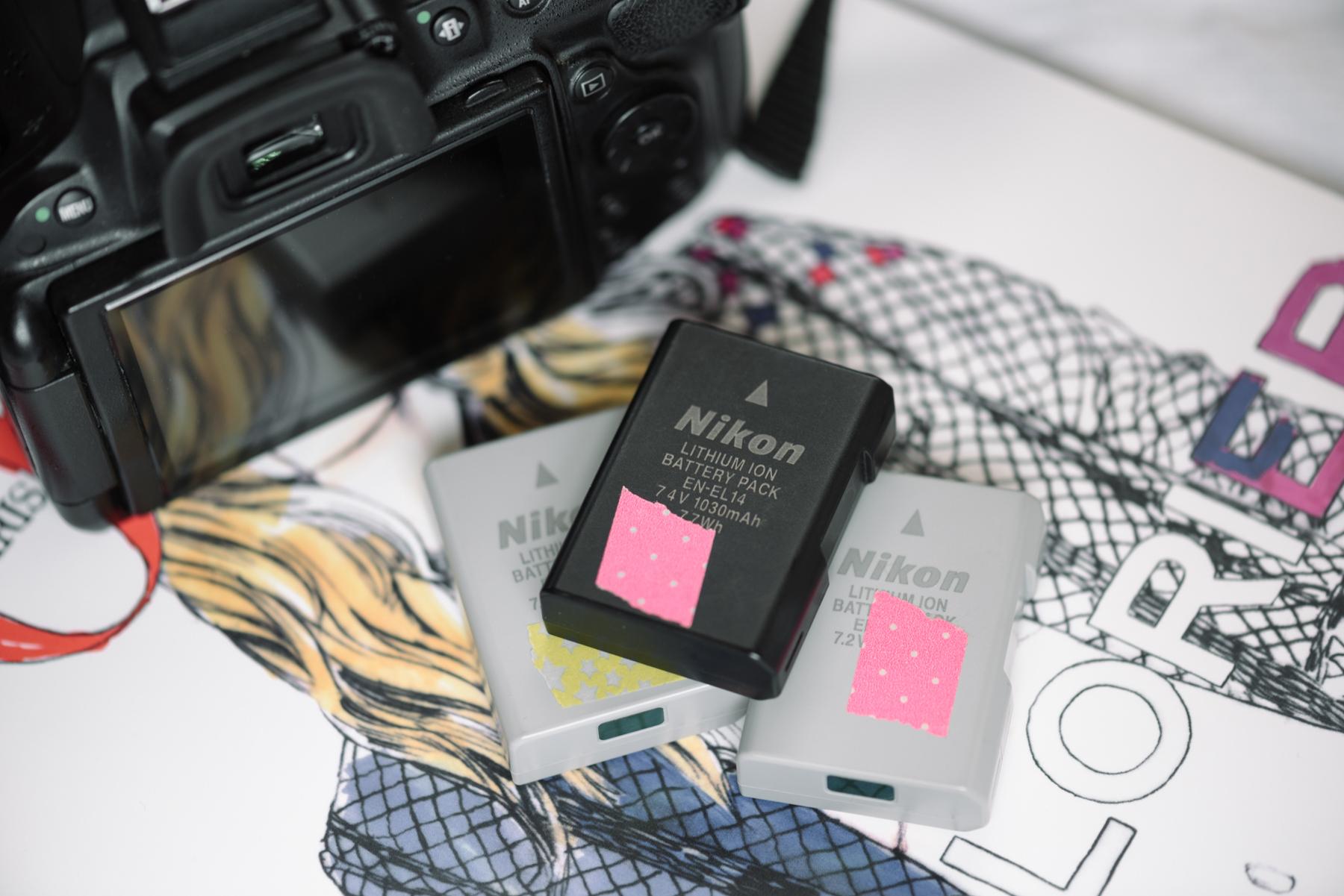 Batterijen Nikon