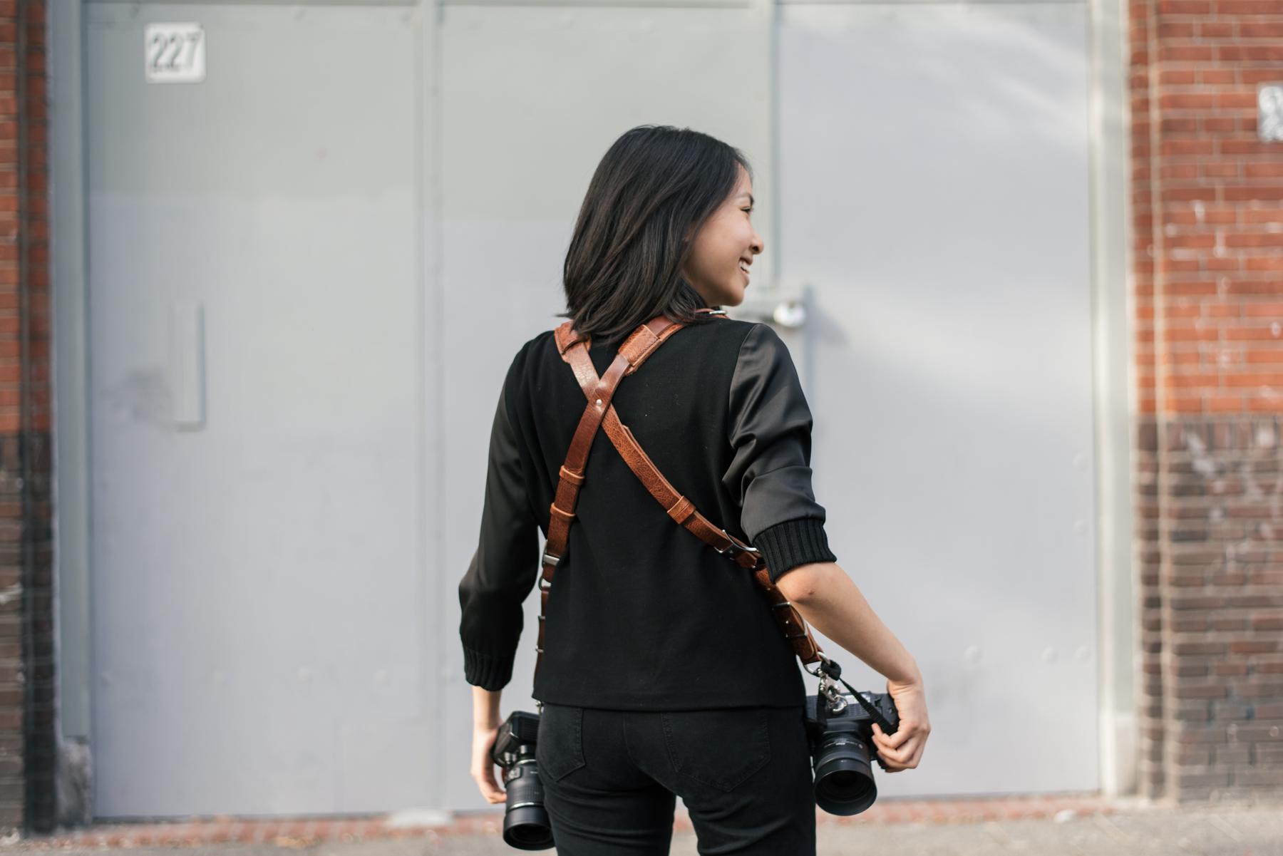 HoldFast Money Maker camera strap skinny
