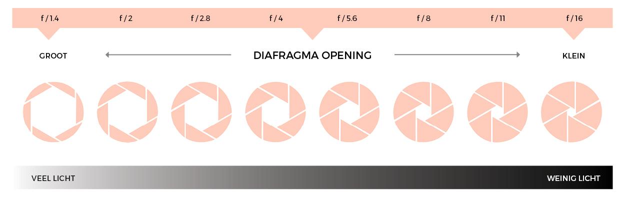 diafragma-licht