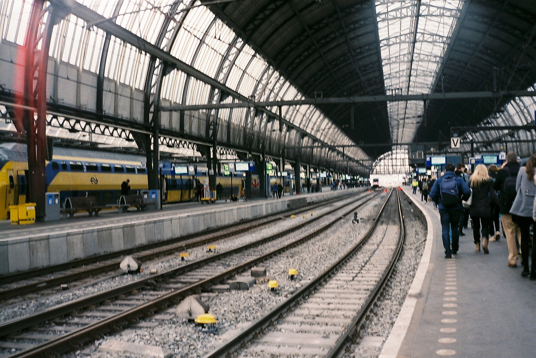 Amsterdam Centraal Station, analoog