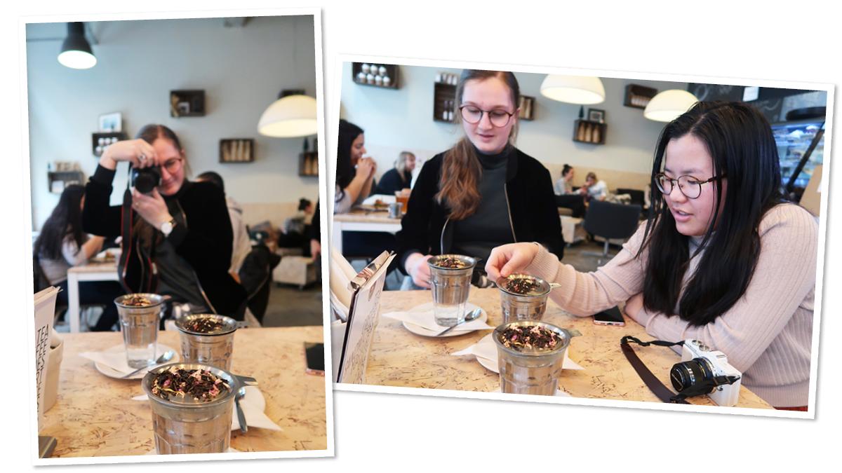 Tea lab Rotterdam hotspot